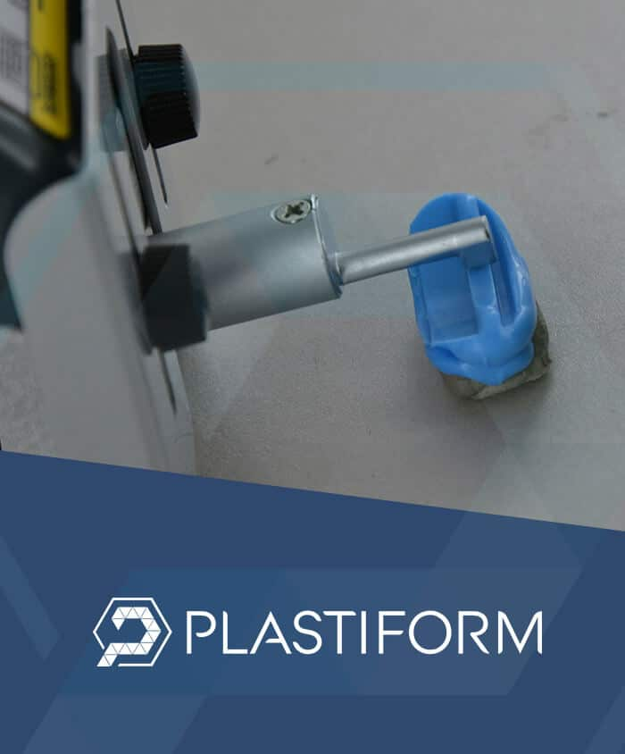 Plastiform roughness control Ra