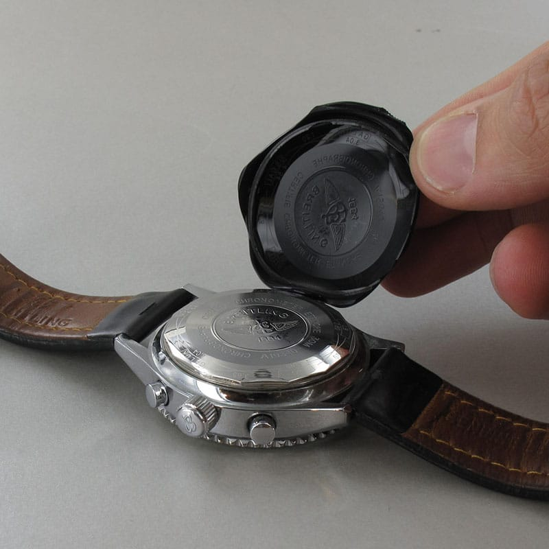Plastiform on a watch