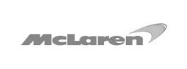 grey mclaren logo