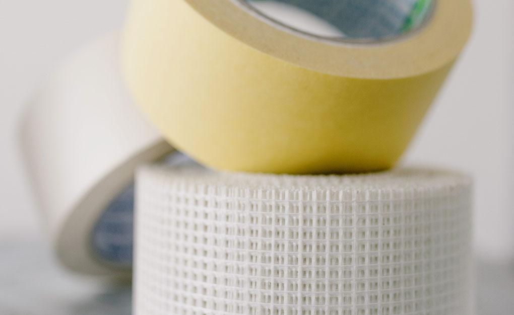 Rolls of masking tape